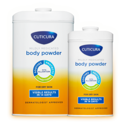 Cuticura Mildly Medicated Body Powder